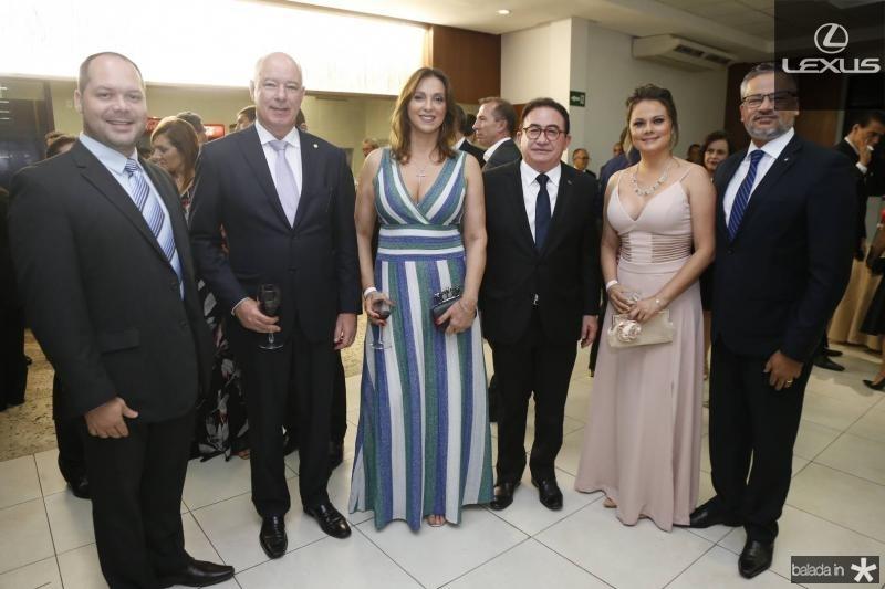 Heitor Freire, Herculano e Rita Passos, Manoel Linares, Tayana Machado e Bob Santos