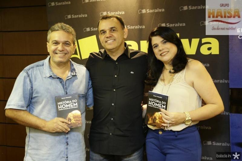 Jose Neto, Edmac Trigueiro e Patricia Barros