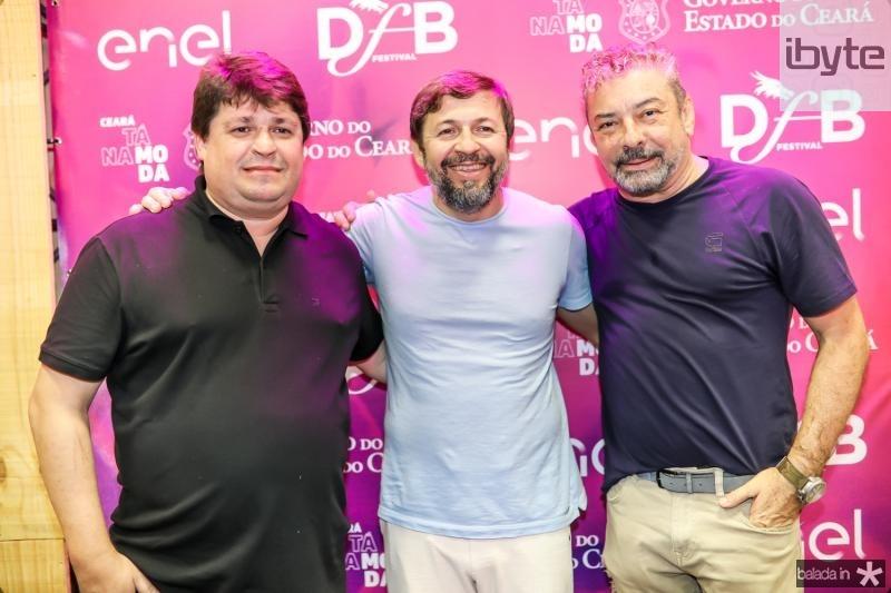 George Lima, Elcio Batista e Claudio Silveira
