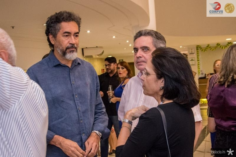 Fernando Franca, Totonho Laprovitera e Elusa Laprovitera