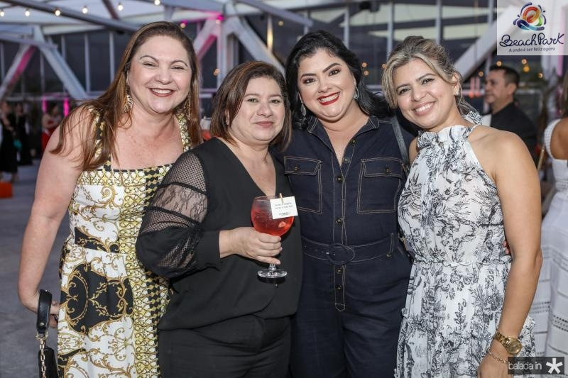 Lili Cialdini, Sellene Paiva, Vivi Barreto e Elaine Medeiros