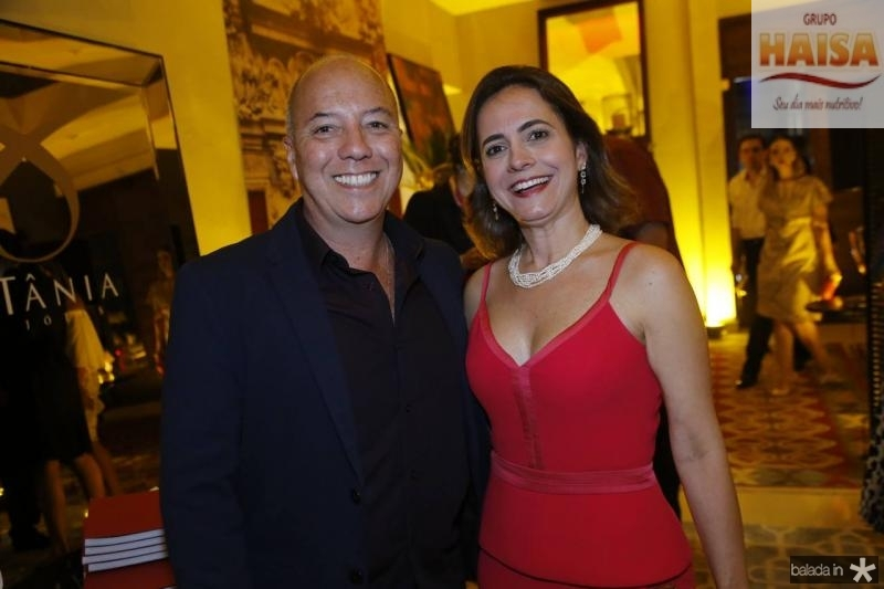 Marco Oliva e Natalia Abreu