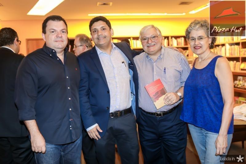 Fernando Ferrer, Bruno Queiroz, Arnon e Auralee Baltar