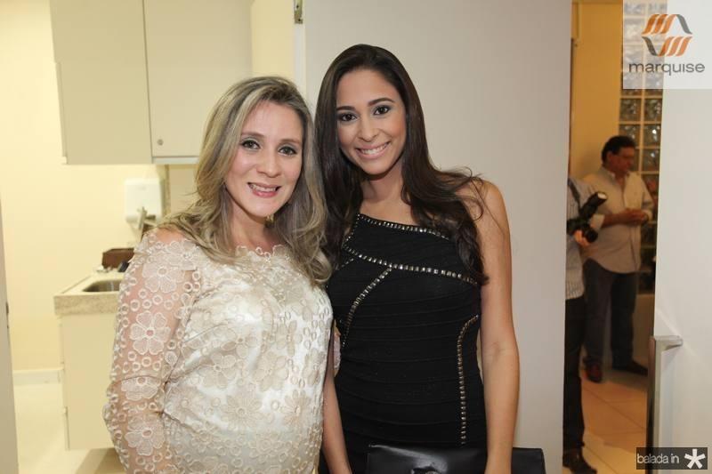 Olga Saraiva e Brenda Bernardo