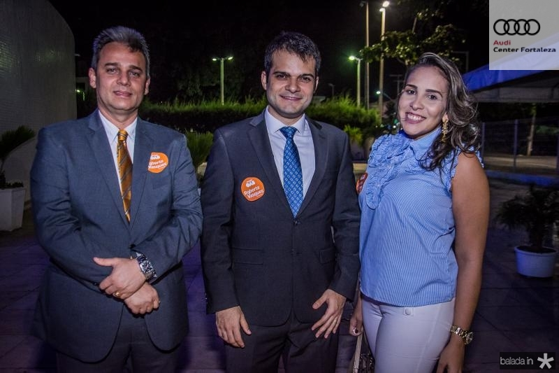 Alan Bandeira, Levi Sales e Gabriela Barreto