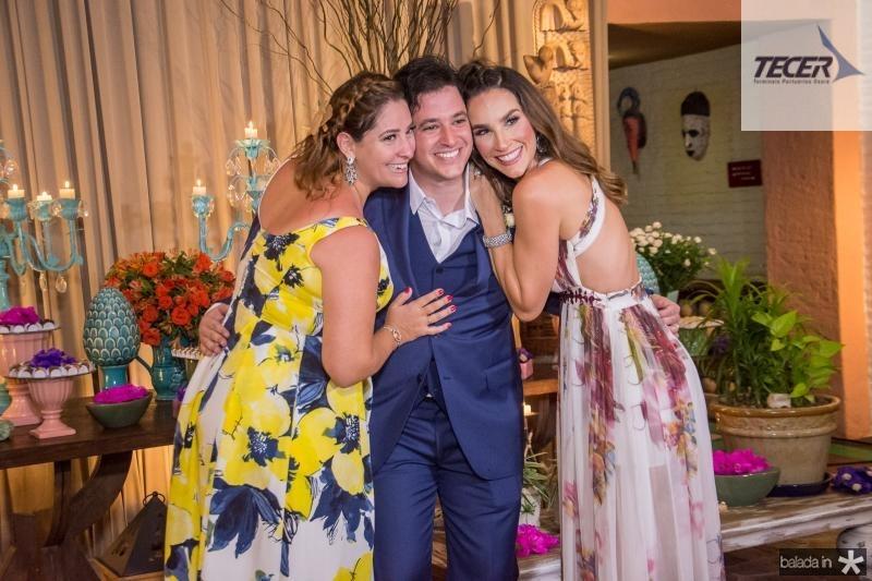 Nayana Becker, Joao Cabral Filho e Marcela Carvalho