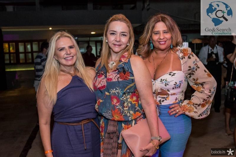 Sandra Mourao, Sandra Fujita e Montiele Arruda