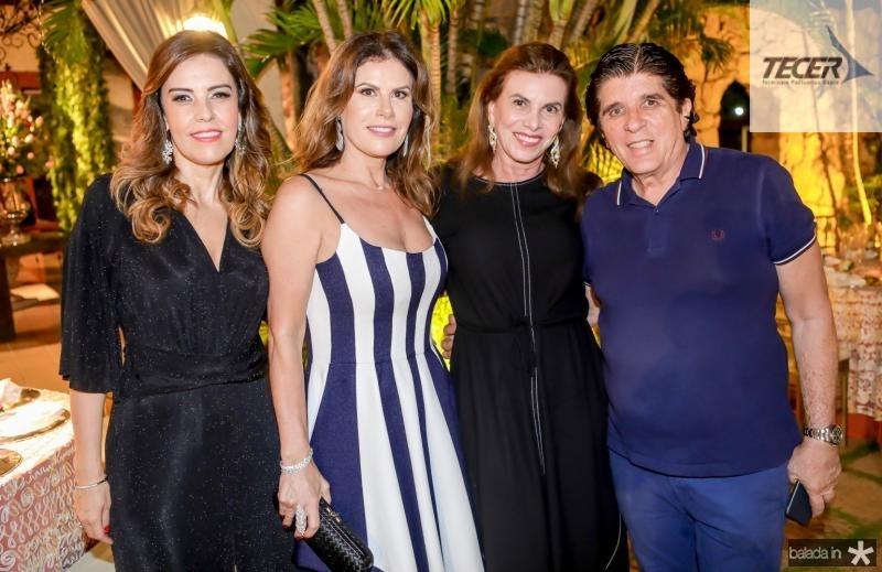 Rosele Diogo, Karla Nogueira, Sandra Pinheiro e Dito Machado