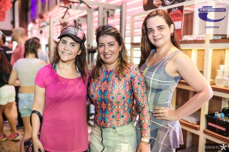 Thais Pamplona, Daniela Militao e Michele Alencar