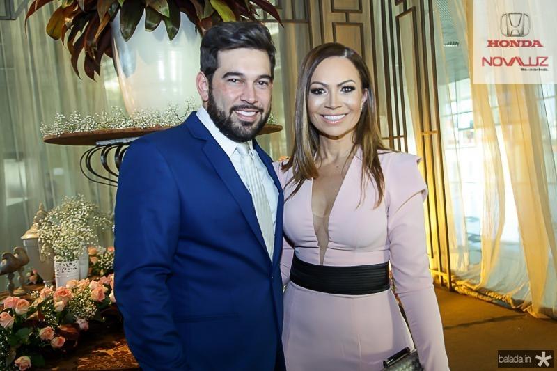 Andro Andrione e Solange Almeida