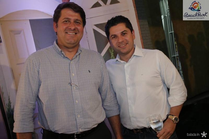 Rafael Rodrigues e Pompeu Vasconcelos