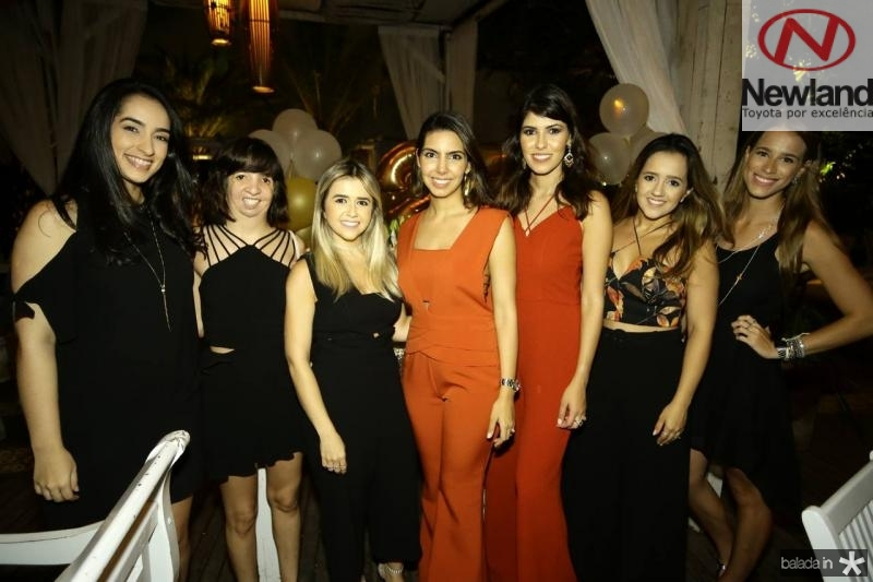 Gabrielle Paiva, Mariana Silveira, Julia Romcy, Carla Laprovitera, Flavia Simoes, Mayard Romcy e Marcela Argolo