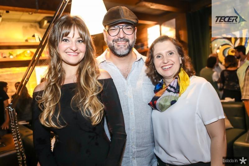 Stefanie Borner, Newton Whitehurst e Andrea Dallolio