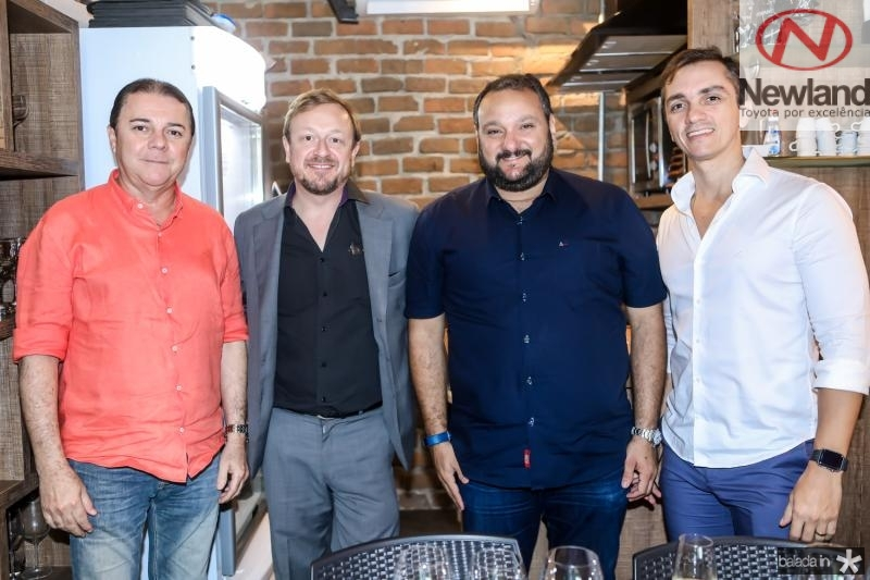 Eliseu Barros, François Hautekeur, Patriolino Dias e Marcelo Marfrutas