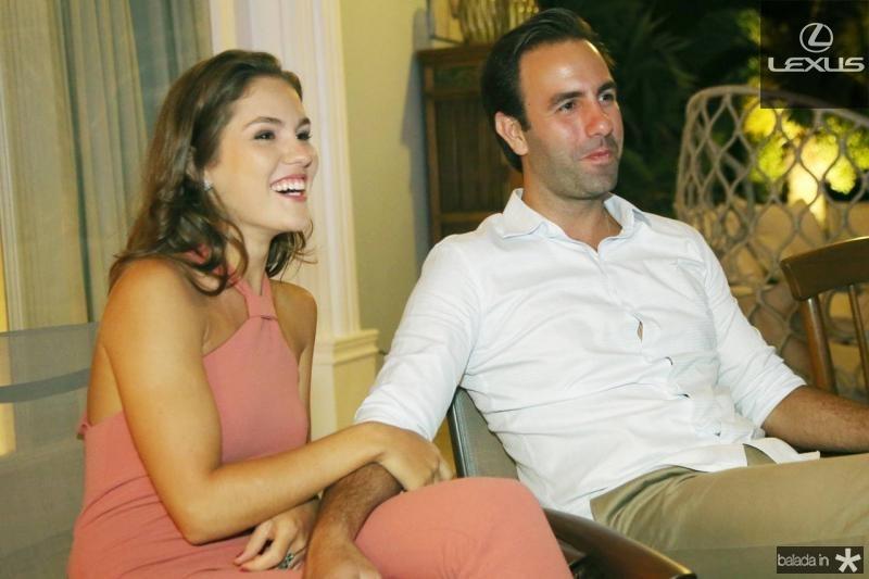 Dani Eloi e Vitor Frota