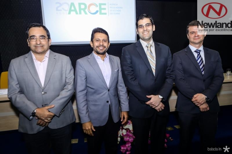 Jardson Cruz, Helio Winston, Joao Gabriel Rocha e Ariano Melo
