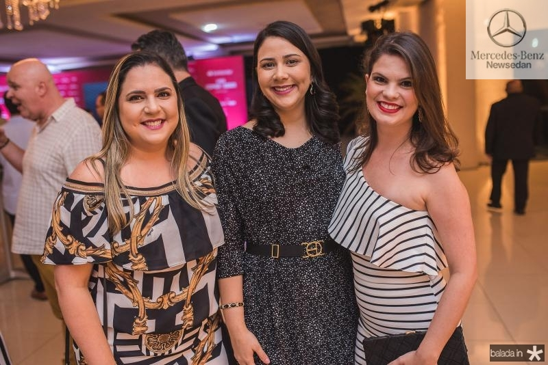 Fernanda Feitosa, Pollyana Rocha e Erika Vasconcelos