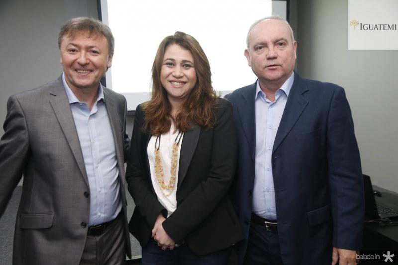 Mauricio Filizola, Raquel Barros e Savio Carvalho 1
