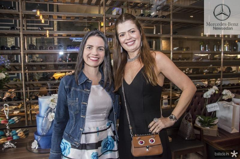 Lilia Sales e Lucia Fialho