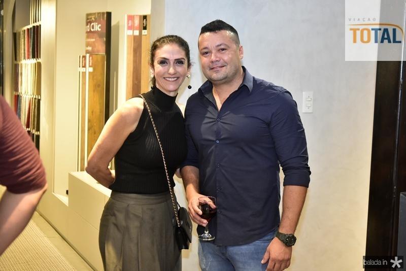 Bete Cunha e Davi Vieira