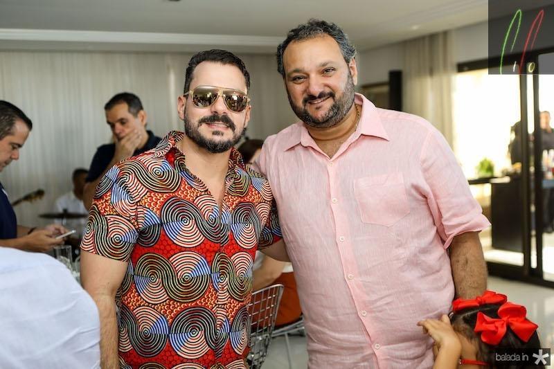 Miguel Dias Filho e Patriolino Dias