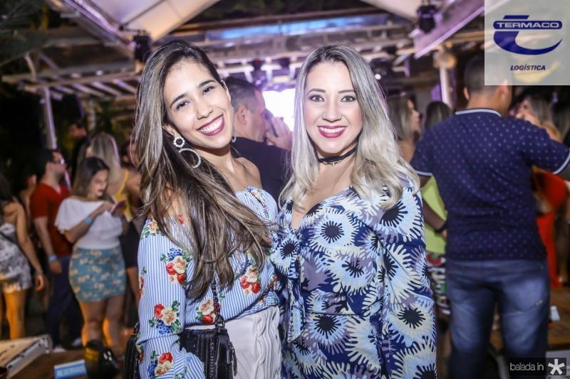 Larissa Rocha e Carol Sales