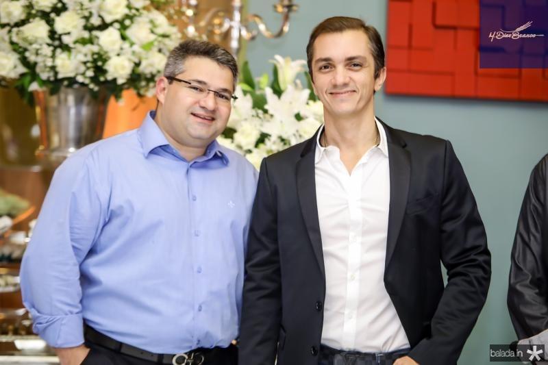 Mario Queiros e Marcelo Marfrutas