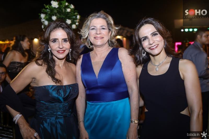 Sandra, Stela e Denise Rolim