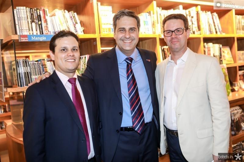 Ilo Carvalho, Erinaldo Dantas e Nestor Santiago
