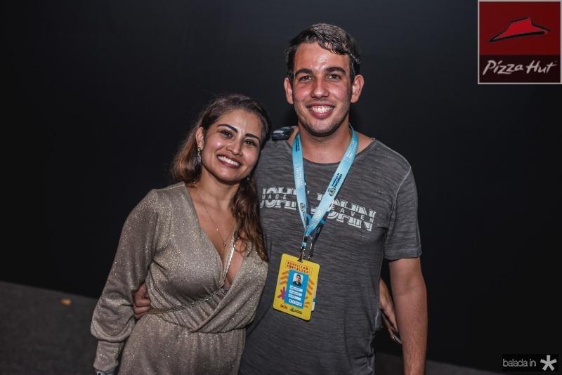 Carmen Frota e Gabriel Ribeiro