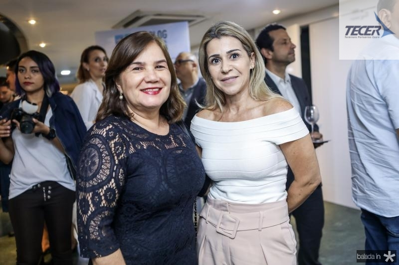 Veronica Gurgel e Monica Luz