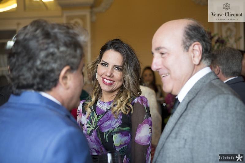 Ivan Bezerra, Ana Carolina Fontenele e Silvio Frota