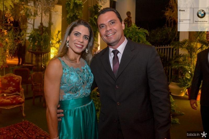Karine Castelar e Renan Pontes