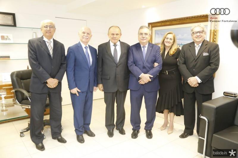 Joao Bosco Macedo, Freitas Cordeiro, Honorio Pinheiro, Assis e Edna Cavalcante e Fred Fernandes