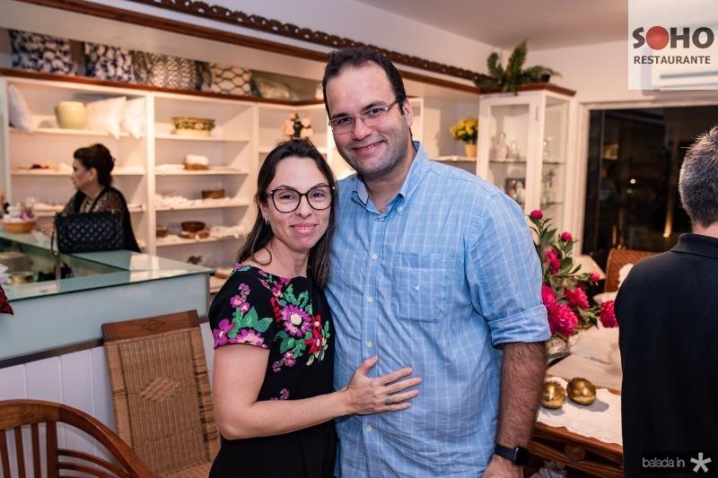 Renata Holanda e Carlos Ernesto