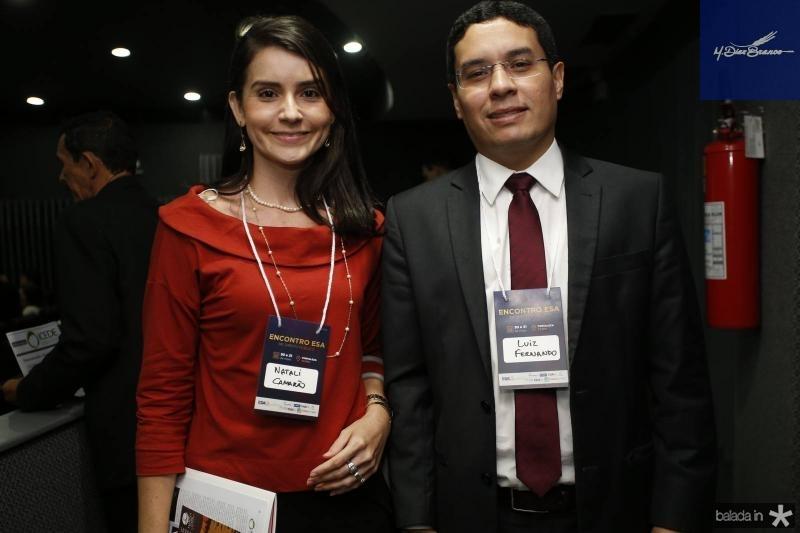 Natali Camarao e Luiz Fernando