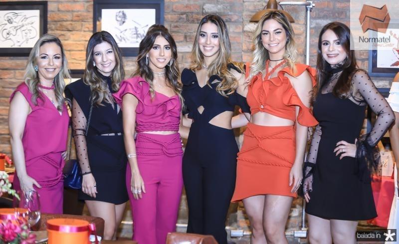 Ingrid Romero, Renata Aguiar, Taira Romcy, Natalia Ximenes, Mariana Furtado e Rosane Tavares