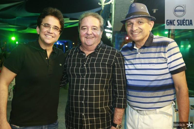 Pantinha Neto, Chiquinho Aragao e Licinho Correa