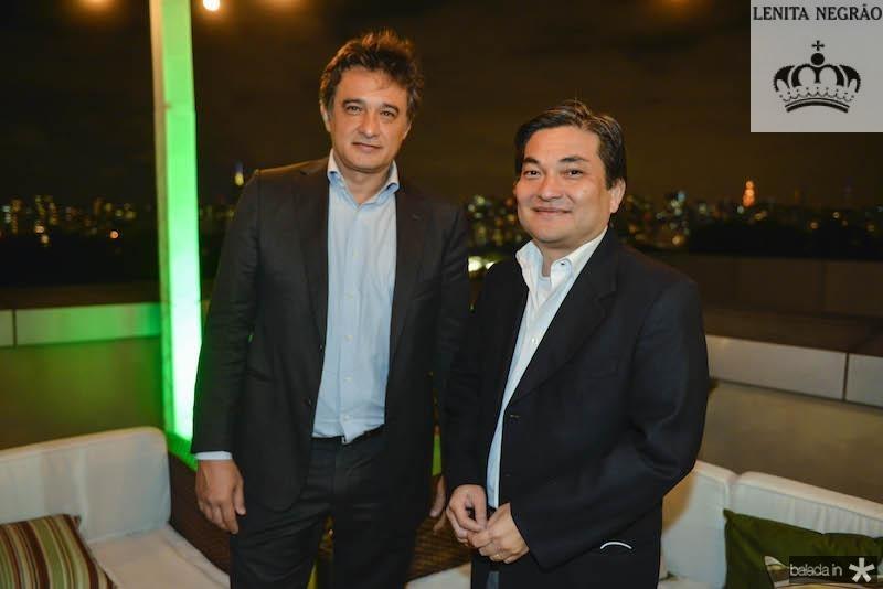 Joaquim Fokudai e Edson