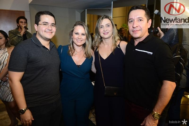 Bruno Cruz, Nelize Franco, Ednara Carvalho, Carlos Duarte