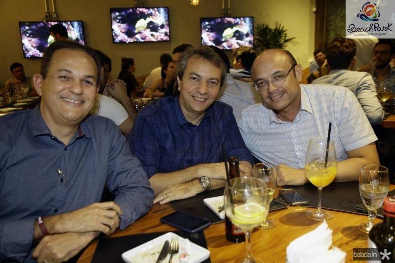 Rony Vasconcelos, Tulio Freitas e Adriano Fiuza