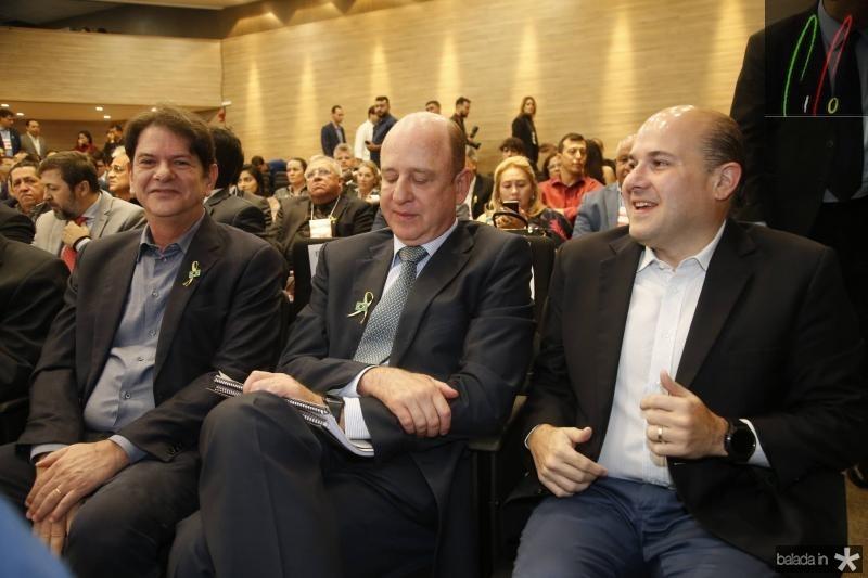 Cid Gomes, Benjamin Zimler e Roberto Claudio
