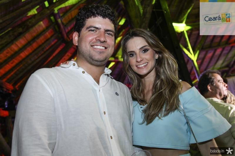Lucas Camara e Laime Paz