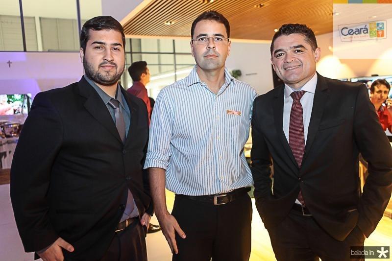 Fabio Campos, Silvio Uchoa e Marcos Linhares