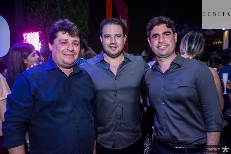 George Lima, Leonardo Couto e Bruno Barreira