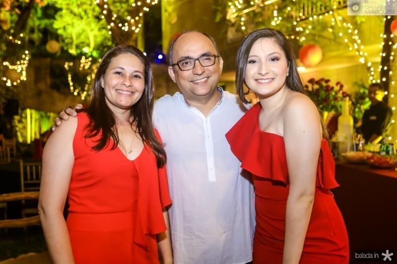 Kercy, Marcelino e Alexia Gomes