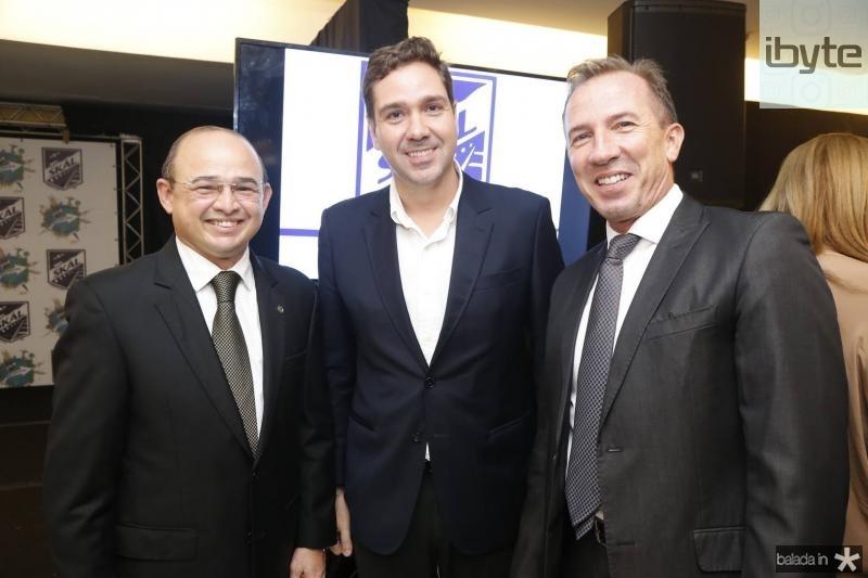 Sergio Aguiar, Eduardo Bismarck e Philip Godofruan