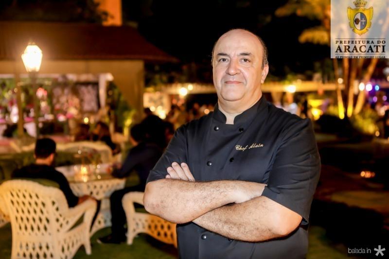 Chef Alain Tortosa