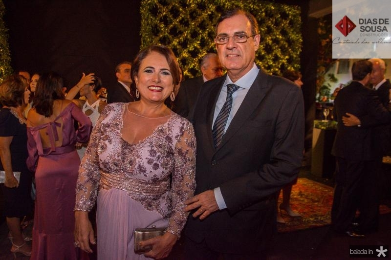 Ana Luiza e Urbano Costa Lima