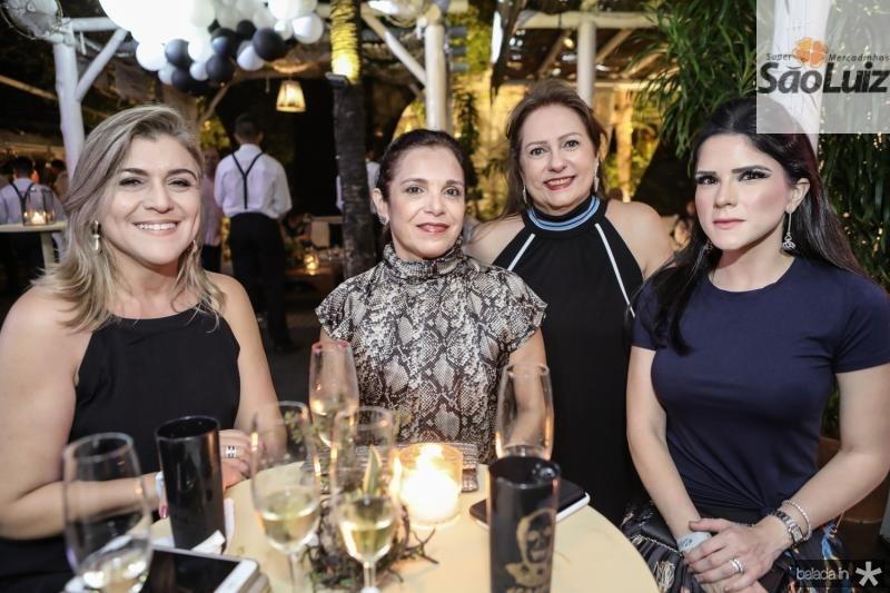 Simone Noroes, Elusa Laprovitera, Cristina Aragao e Marilia Vasconcelos